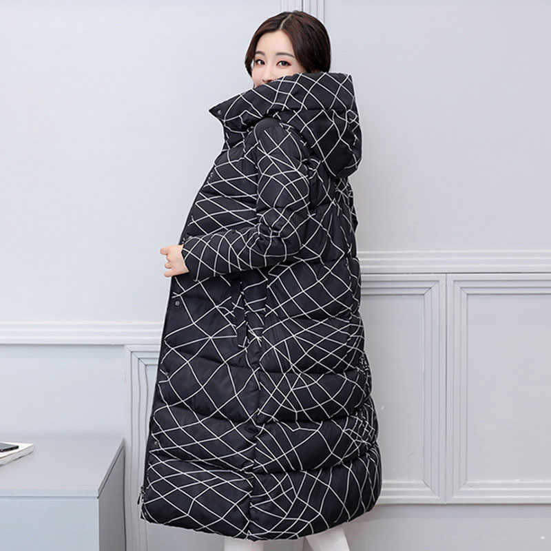 d8567ae5b1 YAGENZ women s cotton women long section of the knee thickening winter new  feather cotton large size