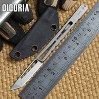 MG Tactical II Fixed Blade Knife CPM S35vn Hunting Straight Knife KYDEX Sheath Camping Survival Outdoor