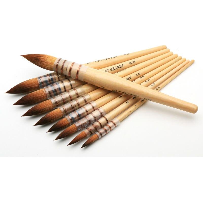15RT Art Paint Brush Fine Taklon Hair High Quality Watercolor & Acrylic brush15RT Art Paint Brush Fine Taklon Hair High Quality Watercolor & Acrylic brush