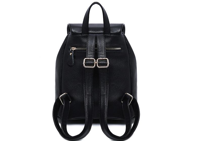 En été 2018, le nouveau sac à dos de voyage de vacances PU femme de loisirs mode et sac à bandoulière confortable - 5