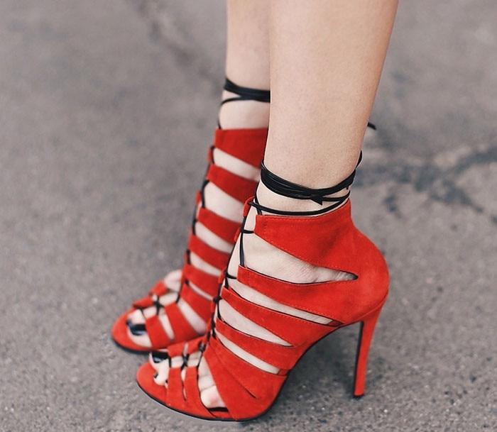 2016 New Women Sandals Sexy Cut-Outs High Heels Shoes Woman Ankle Strap Gladiator Sandals Women Thin Heels Pumps Sandalias C116 2016 new summer women sandal sexy high heels sandals cut outs shoes woman sandals pointed toe suede women pumps sandalias c122