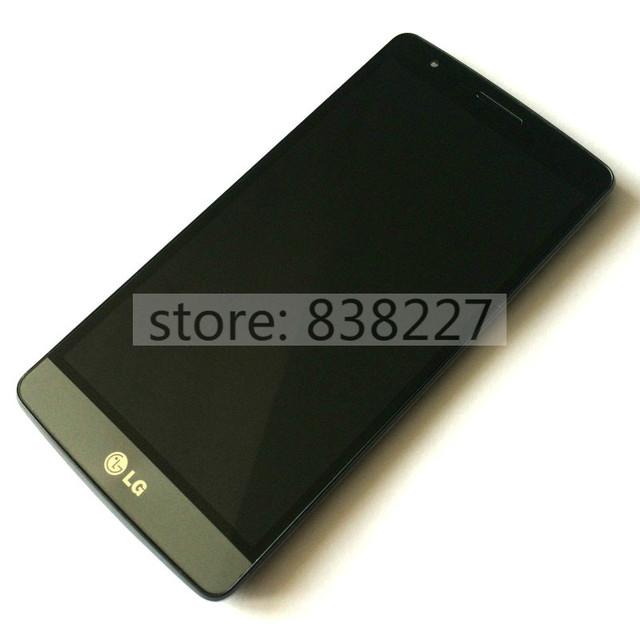 Pantalla lcd para lg g3 mini g3s d722 d724 d725 lcd pantalla Táctil Del Digitizador +/-reemplazo Del Conjunto Del Marco Gris oro blanco