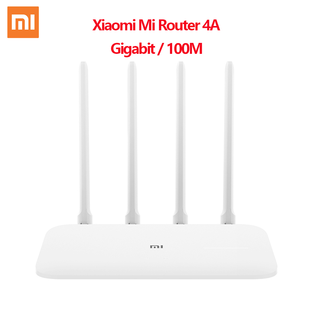 Xiaomi Mi WIFI Router 4A WiFi Repeater 1167Mbps Dual Band Dual Core 2.4G 5Ghz 802.11ac Four Antennas APP Control Wireless Router(China)