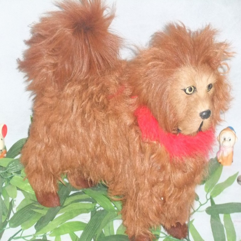 ФОТО creative simulation Tibetan mastiff dog toy lifelike dog doll gift about 38x32cm