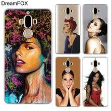 DREAMFOX M373 Alicia Keys Soft TPU Silicone  Case Cover For Huawei Mate G 7 8 9 10 Nova 2 Lite Pro Plus цена 2017
