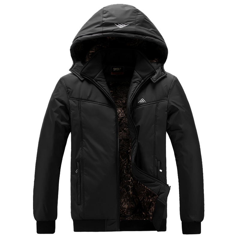Aggressive Plus Size 3xl 4xl 5xl 6xl 7xl 8xl 9xl Men Hooded Collar Winter Parka 100 To Be Highly Praised And Appreciated By The Consuming Public