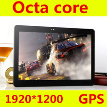 Free Shipping Android 6.0 10.1 inch MT8752 T109 tablet pc 8 Core 4GB RAM 128GB ROM 1920×1200 IPS 3G/4G LTE Gift tabletter