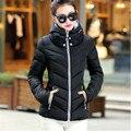 2017 de Moda de Nova Down & Parkas Quente Casaco de Inverno Mulheres luz de Inverno de Espessura Plus Size Jaqueta Com Capuz Femme Feminino Outerwear C1728