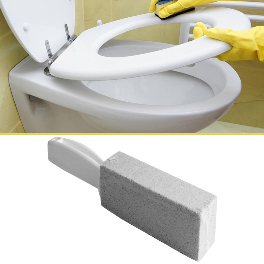 1Pc Toilets Cleaner Stone Natural Pumice Stone Toilets Brush Quick Cleaning Stone Cleaner With Long Handle For Toilets Sinks
