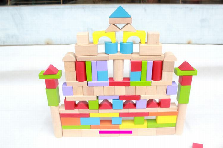 150 Pcs/Set Wooden Toys City Building Blocks  For Kids Education And Learning Game Toy Gift dayan gem vi cube speed puzzle magic cubes educational game toys gift for children kids grownups