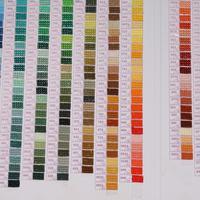 ZOOYA 5d diamond painting accessories diamond embroidery DMC rhinestone mosaic Color chart Full Round/square Drills B008