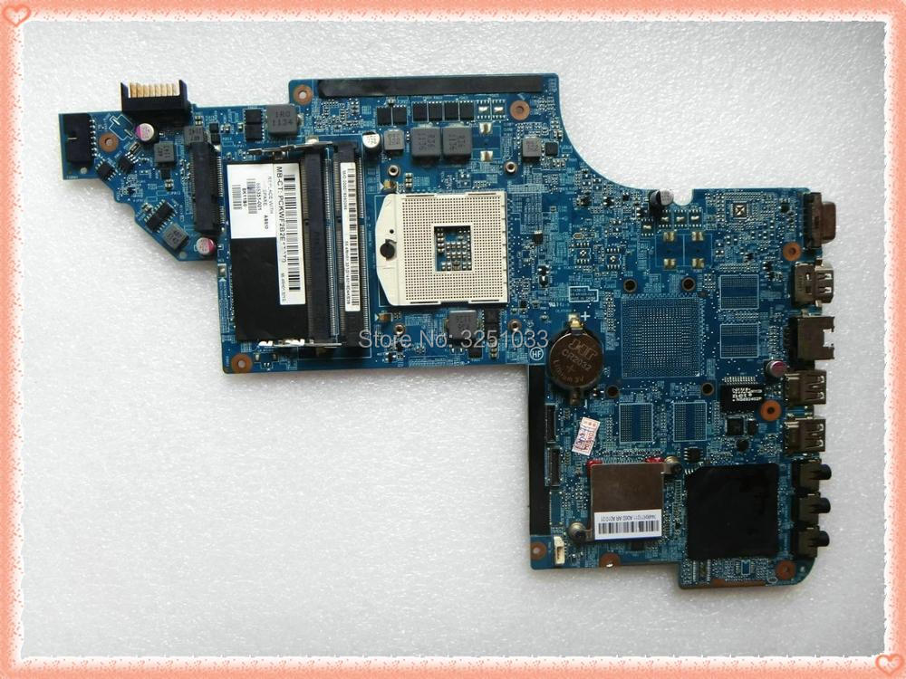 665351-001 for HP PAVILION DV6T-6C00 DV6T-6B00 NOTEBOOK for HP pavilion DV6 DV6-6000 laptop motherboard HM65 chipset 100% 641488 001 for hp pavilion dv6t 6000 notebook dv6 6000 laptop motherboard hm65 hd6770 1g