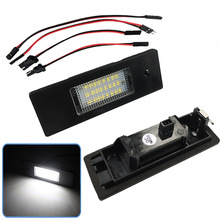 цена на Special for automobile License plate lamp for BMW BMW E87 E81 E63 E64 E85 E86 F12 F13 Z4 LED License plate lamp