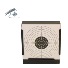 Airgun Target & Square Pellet Trap W. 100 Pcs Target Papers/Also For Airsoft Paintball /Improving HuntingShootingTactical
