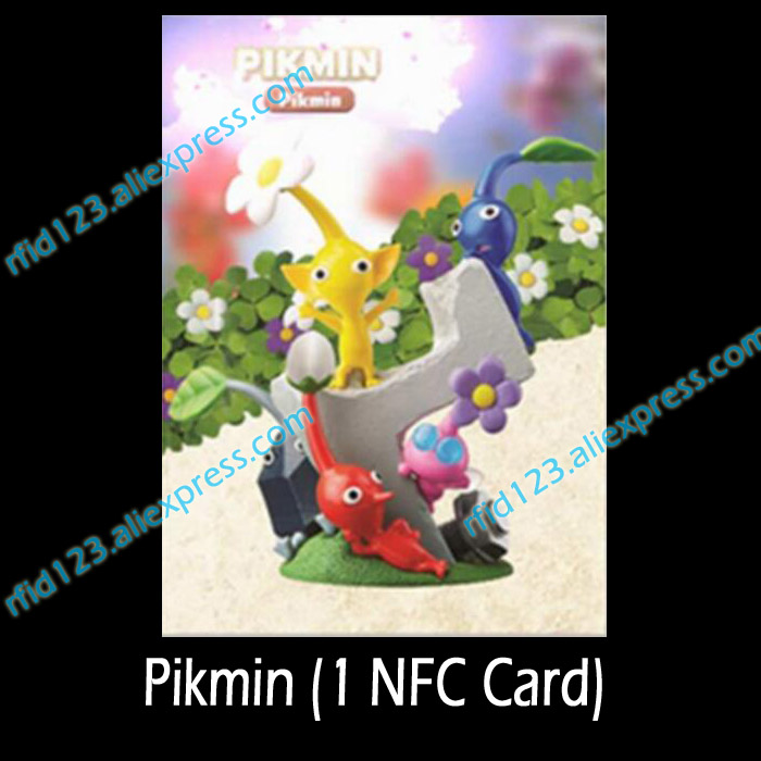 <font><b>Amiibo</b></font> NFC Coin Tag Printed NFC <font><b>Card</b></font> For <font><b>Switch</b></font> Pikmin image