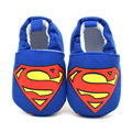 2016New Baby Infant Superman Shoes 0-18M Boys Girls Casual Shoes Fashion Shoes Spring Autumn Winter Fashion Baby First Walker
