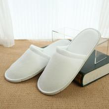 Hotel Slippers Open Toe Disposable Spa Non-slip Breathable  1/10 Pairs