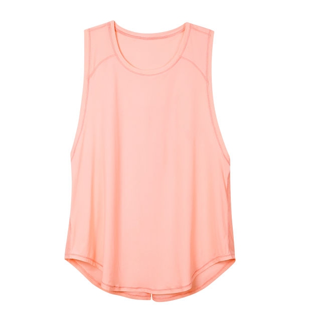 Quick Dry Mesh Running Tie Back Tank Top