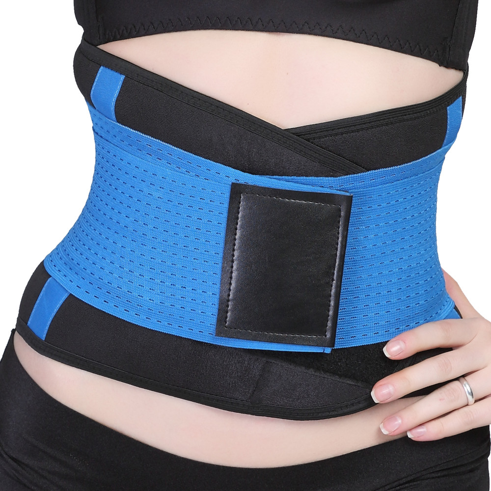 11 colors Neoprene Latex Slimming belt Waist trainer corset women body shaper shapewear belly belt weight loss