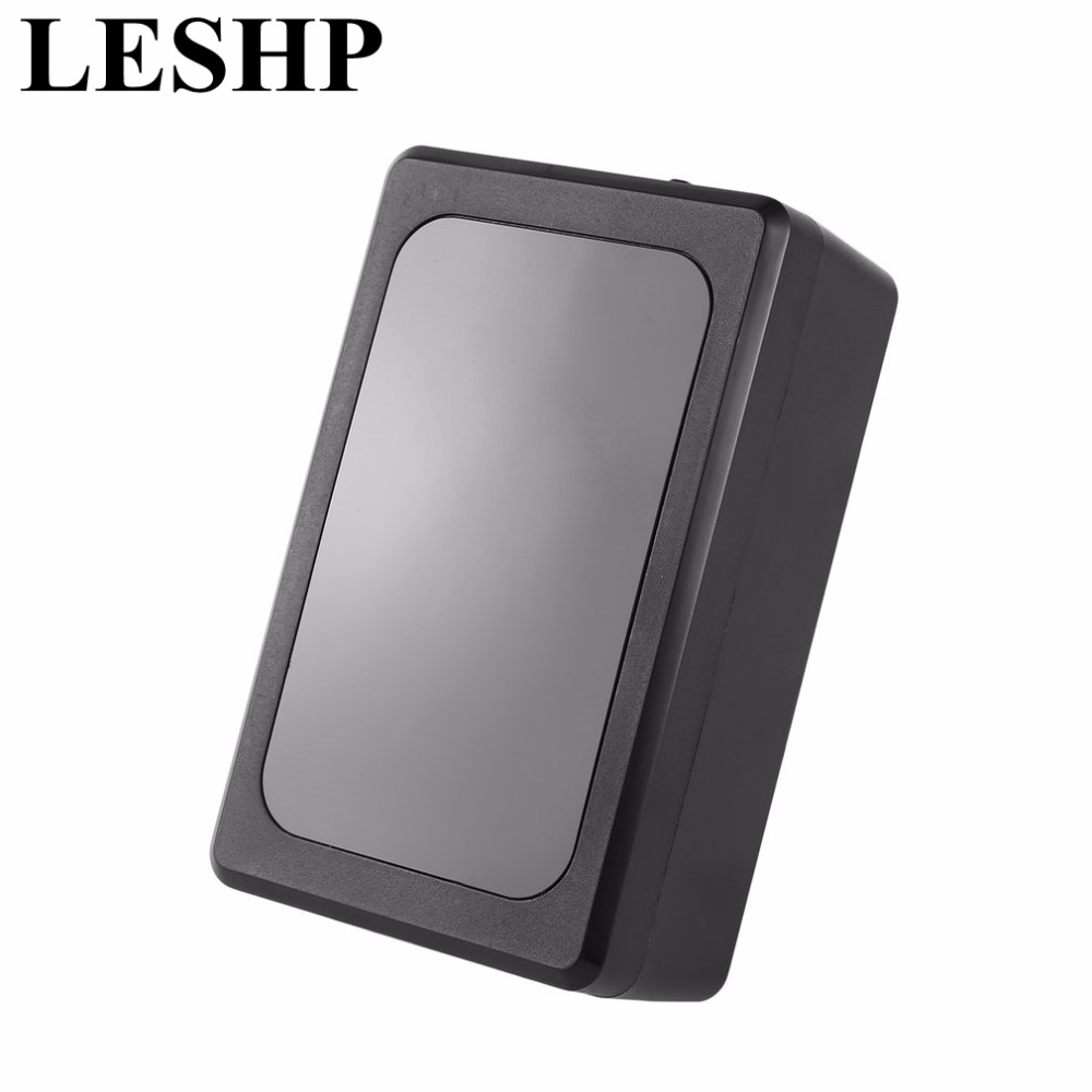 LESHP GT019 Quad band GSM/GPS/GPRS Tracker Waterproof Magnetic Vehicle Tracker 6800mA Battery Real Time GPS Locator Hot Selling smallest sim800l quad band network mini gprs gsm breakout module