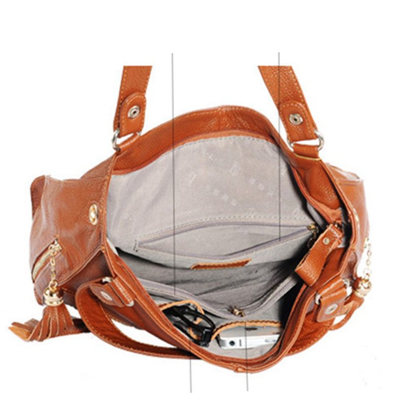 de couro de luxo mulheres Tipos OF Bags : Shoulder & Crossbody Bags