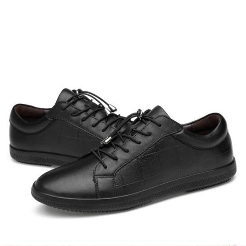 Vyriški Anglijos stilius Laukinės natūralios odos mažos pagalbos - Vyriški batai