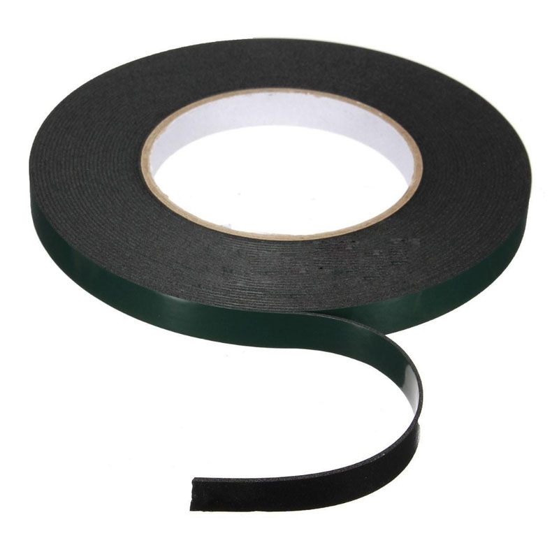 10M Strong  Double  Waterproof Adhesive Sided Foam Tape For Car Trim Plate 10/12/20/30/40/50MM 1pc durable double sided tape adhesive high strength double faced tape foam attachment tape two sided adhesive 10mx20mm