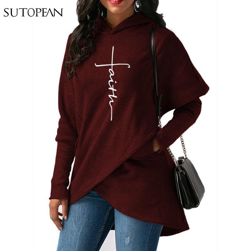2018 nueva moda fe impresión Hoodies mujeres Tops sudaderas ropa algodón PANA Bts calle gruesa dulce más tamaño