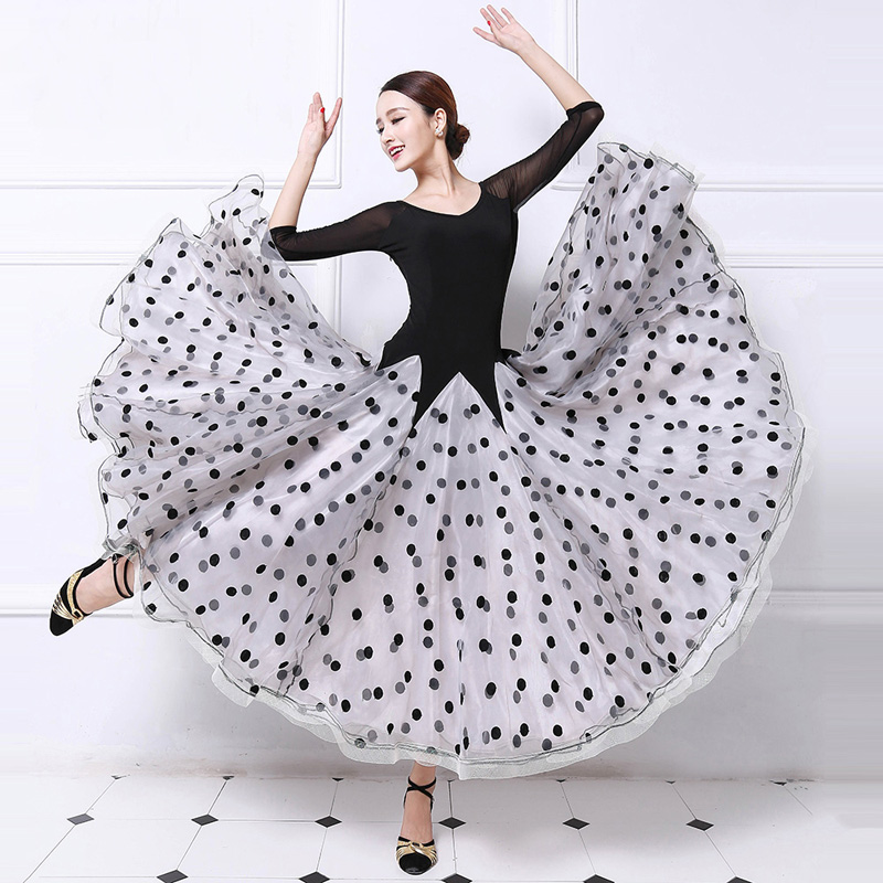 Ballroom Competition font b Dance b font Dress For Women 2017 New Arrival Simple Style Standard