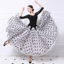 Ballroom Competition Dance Dress For Women 2017 New Arrival Simple Style Standard Tango Waltz Flamenco Ballroom Dancing Dresses