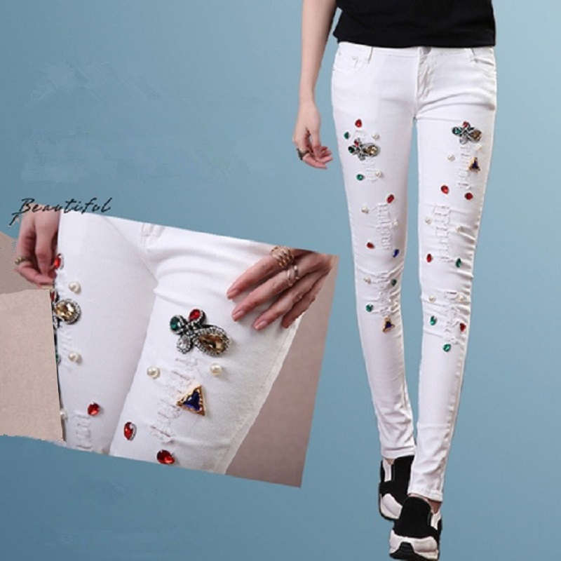 Online Get Cheap Sequin Rhinestone Jeans -Aliexpress.com | Alibaba ...