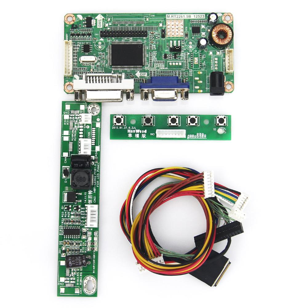M.R2261 M.RT2281 LCD/LED Controller Driver Board(VGA+DVI) For LP171WU6-TLA2 LP171WU6-TLA1 LVDS Monitor Reuse Laptop 1920*1200