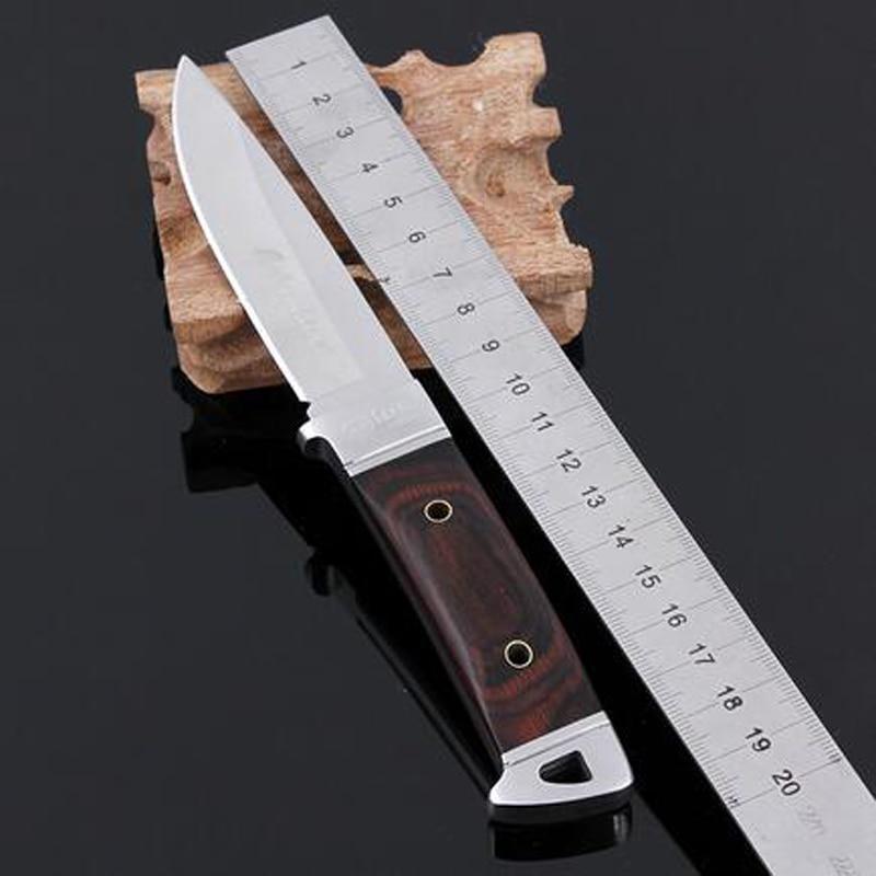 Nerūdijančio plieno medžioklinis peilis Navajas Cuchillo Mes fiksuotas peilis peiliu stovyklavimui Medžioklės peiliai