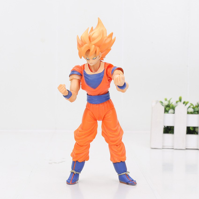 orange hair goku