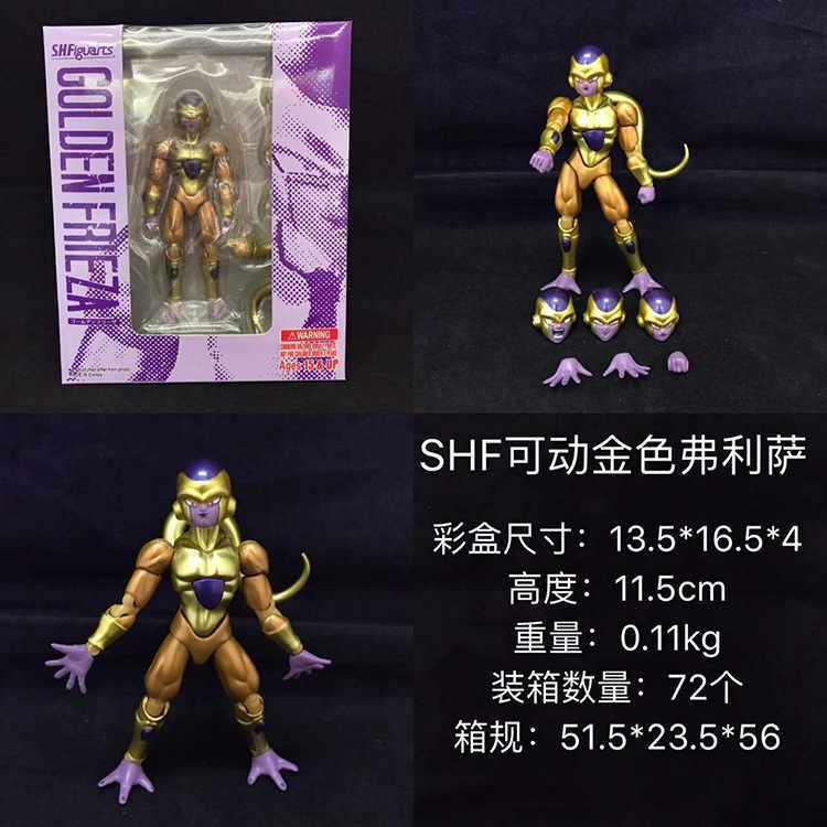 11.5 cm Dragon Ball Z Frieza joint Moveable Figura Anime Ação PVC Nova Coleção figuras de Coleta de brinquedos para presente de Natal