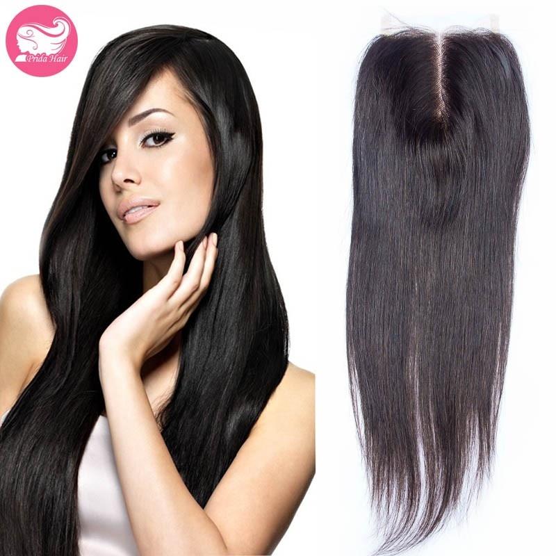 7א הטוב ביותר בתולה פרואני שיער תחרה סגר מולבן קשר 4x4 התיכון/חינם/חלק 3 פרואני הבתולה השיער סגירה עליונה