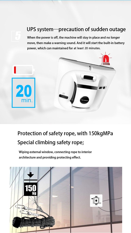 HTB1gf40CL9TBuNjy0Fcq6zeiFXai Liectroux X6 Robot Window Vacuum Cleaner Laser & Pressure Sensor Antifall Auto Glass Mop Home Floor Windows Wall Cleaning Robot