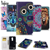 3D Relief Leather Case For ZTE Zmax Pro Z981 Case Wallet Silicone Flip Stand Cover For ZTE Z Max Pro Z981 Phone Case Card Holder