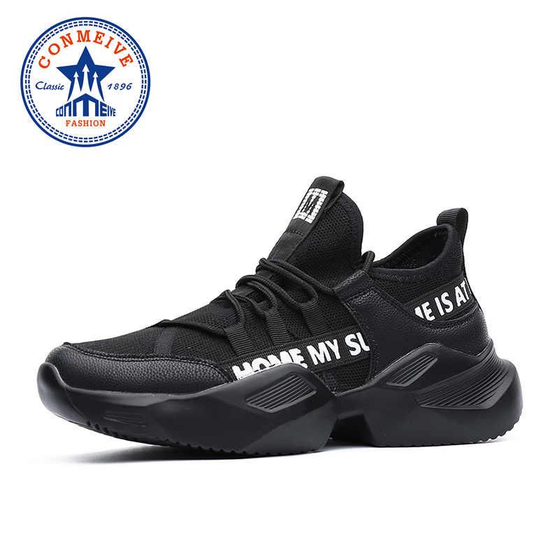 Мягкая дышащая мужская спортивная обувь на шнуровке, мужские дизайнерские кроссовки, нескользящая амортизация, уличная прогулочная обувь для бега