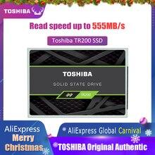 TOSHIBA 240G SSD 240 GB твердотельный накопитель OCZ TR200 64-слой 3D BiCS FLASH TLC 2,5 «SATA III Internal диск для портативных ПК Тетрадь