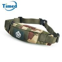 2017 New Brand Men Women High Quality Waist Packs Camouflage Phone Waist Bags Oxford Waterproof Tactical