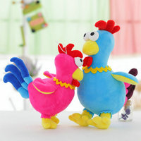 ChInese Style Lovely Chicken Plush Toys Zodiac Doll Cock Cloth Doll 30Cm 40Cm Animals Stuffed Plush