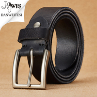 DWTS Designer Belt Men High Quality Luxury 100 Cowhide Full Grain Top Genuine Leather Cowboy