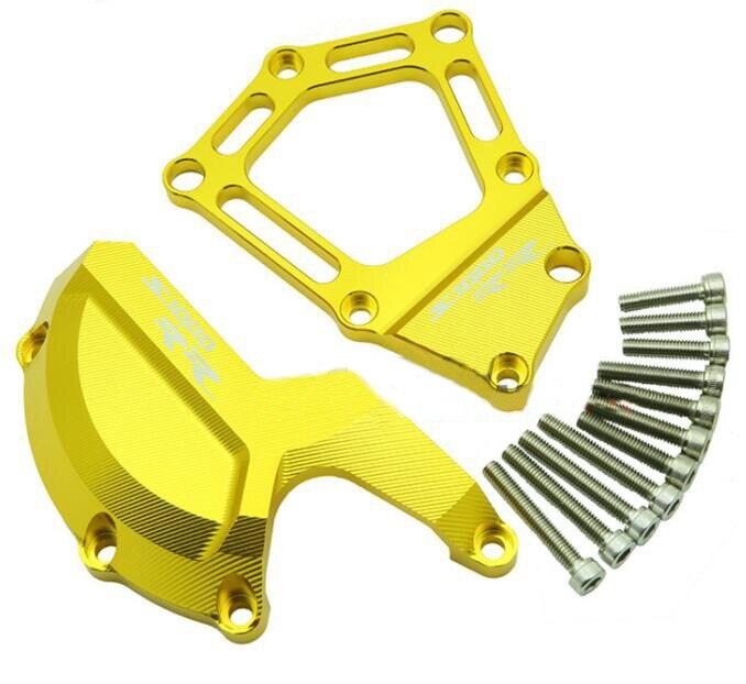 Мотоцикл двигатель боковая защитная крышка подходит для BMW S1000RR НР4 2010 - 2016 -- желтый