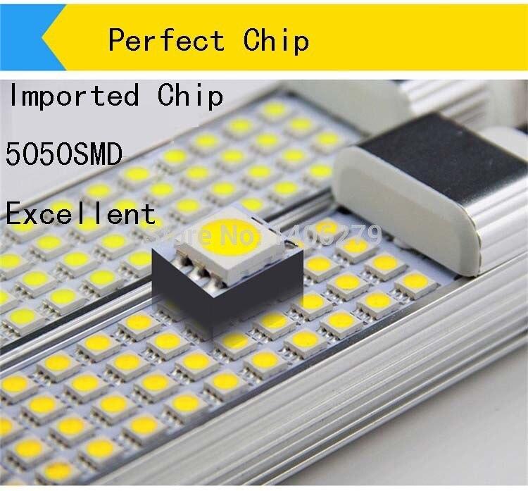 E27 G24 15W LED Corn Horizontal Plug Lamp Light LED Bulb Lamp Light AC85-265V LED light indoor lamparas Light