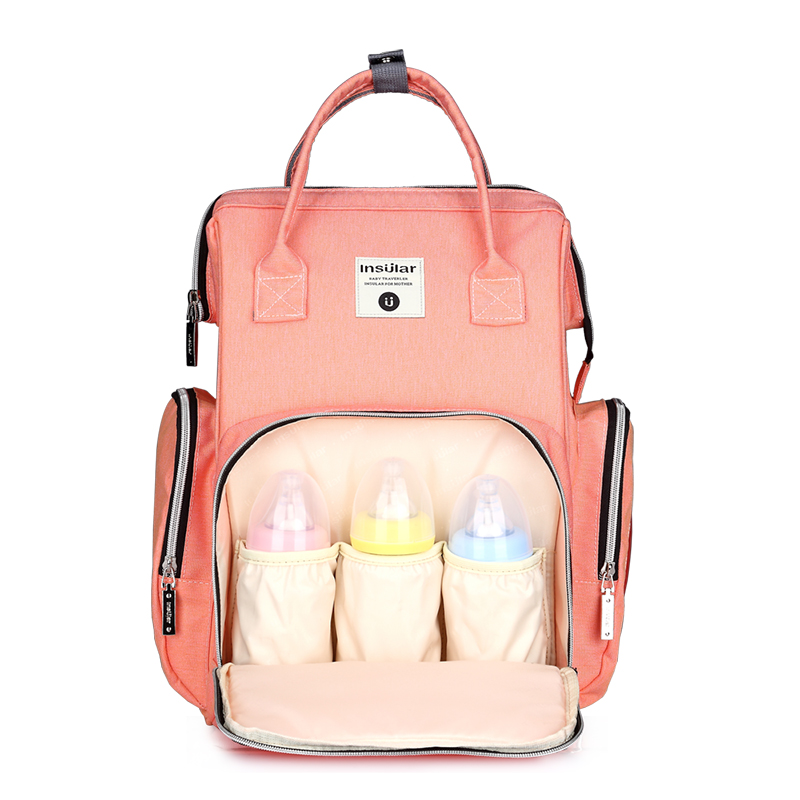 Waterproof Diaper Bag Travel Backpack Mummy Nappy Nursing Bags Baby Care Multi-function Large Capacity Baby Bag diaper backpack large capacity baby bag multi function travel backpack nappy bags nursing bag fashion mummy