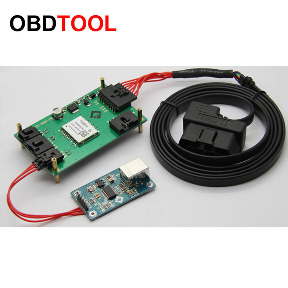 Vehicle OBD2 Detector Module Carries Development Board Car Fault Diagnosis System Simulator Program Development Board