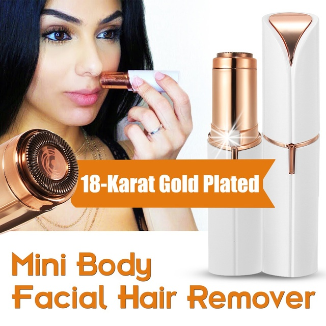 Epilator Electric Facial Hair Remover Shaver Personal Face Care Mini Painless Women Beauty Tools