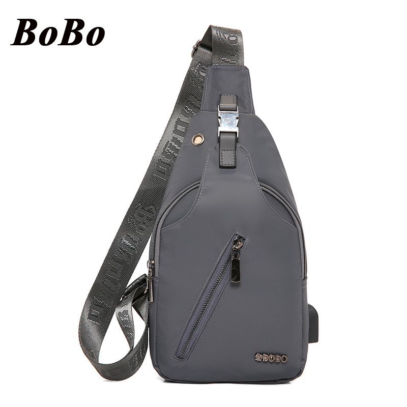 New Oxford Men Chest Pack Single Shoulder Strap Back Bag, USB Charging Crossbody Bags for Women Sling Shoulder Bag Back Pack men s bags chest pack casual single shoulder back strap male bag split leather high capacity chest bag crossbody leather
