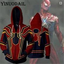 Winter Men Marvel Comics Hoodie 3D Hoodies Spiderman Sweatshirts Women Autumn Funny Print Harajuku